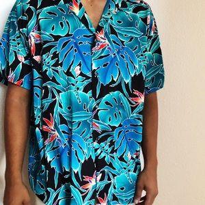Vintage men's Hilo Hattie Hawaiian aloha shirt 3X